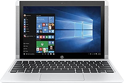 2017 HP Pavilion x2 Detachable Premium Laptop (10.1 Inch HD IPS Touchscreen, Intel Quad-Core Atom x5-Z8300, 32GB eMMC SSD, 2GB RAM, 802.11ac, Bluetooth, Windows 10) (Certified Refurbished)
