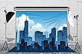 LB 7x5ft Super City Photography Backdrop Cotton Customized Photo Background Studio Prop HR05
