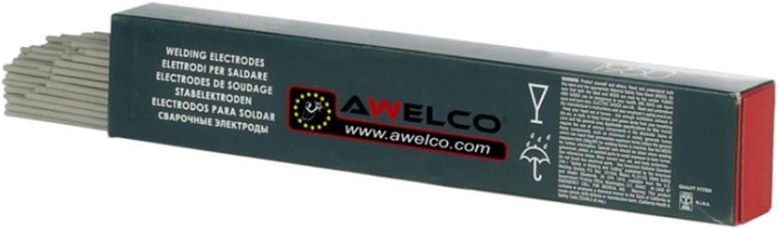 Electrodes acier rutiles /Ø2.0 mm boite de 400 pi/èces baguette AWELCO de 300 mm de long