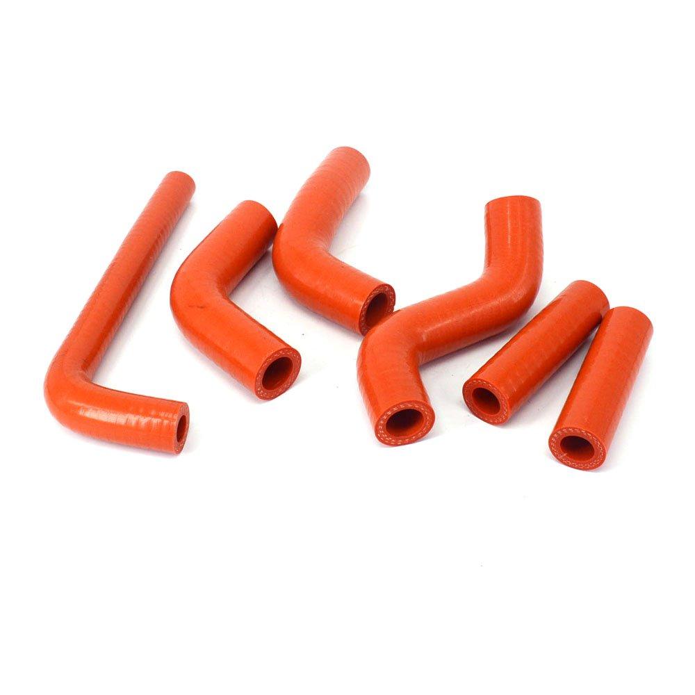Fast Pro silicone rinforzato radiatore kit tubi per KTM 250SX 250/SX 2003/ /2006/arancione