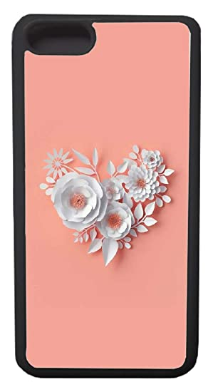 Amazon Com Iphone 8 Plus Case Custom Flower Wallpapers