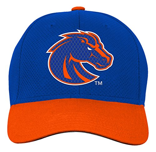 NCAA by Outerstuff NCAA Boise State Broncos Youth Boys Tech Structured Snap Hat, Royal, Youth One Size - Boise Broncos Hats State