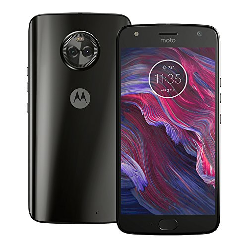"Motorola Moto X4 4G LTE 64GB 5.2"" 4GB RAM XT1900-2 Dual Camera Factory Unlocked Super Black"