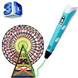 3D Pen, 3D Doodler Drawing Printing Pen, Gifts and Toys for Kids & Adults,Unleash Children's Creativity, Develop Spatial Thinking - Modern Arts and Crafts Tool( Blue )