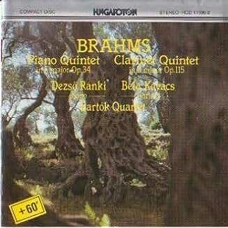 Piano Quintet in F Minor Op. 34