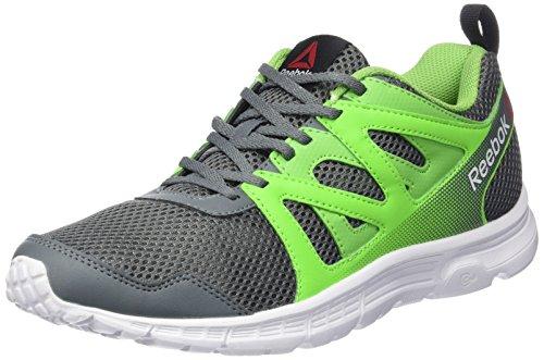 Reebok Run Supreme 2.0 - Zapatillas de running unisex Verde (Alloy / Solar Green / Bright Green / Wht / Blk)