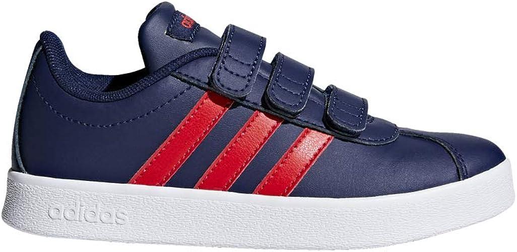 adidas VL Court 2.0 F36386 BlueRed (Blue) – Sports Shoe