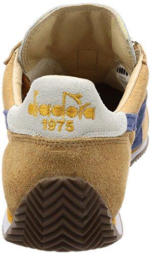Diadora Heritage Sneakers Equipe Kidskin per Uomo e Donna 25130 - Beige Caramella