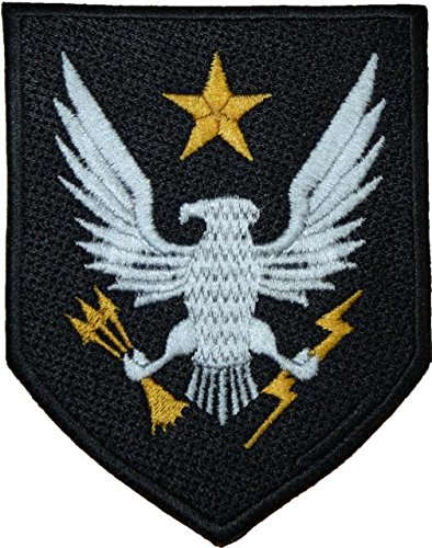 Halo Reach Noble Team Crest EMBROIDERED PATCH Badge Iron-on, Sew On 4