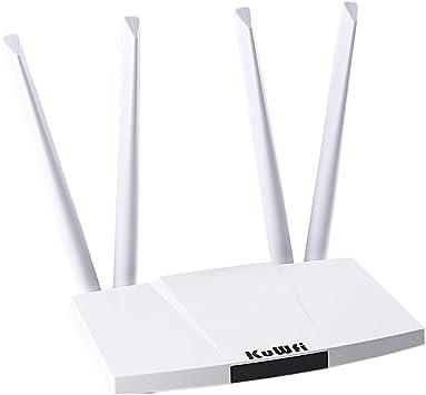 KuWFi 300 Mbps desbloqueado 4G LTE Router CPE con ranura para ...