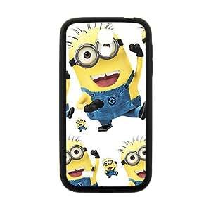 Cute naughty horarios de minions Cell Phone Case for Samsung Galaxy S4