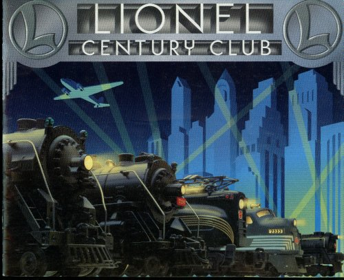 Lionel Century Club Electric Trains Catalog & Membership Certificate 1996