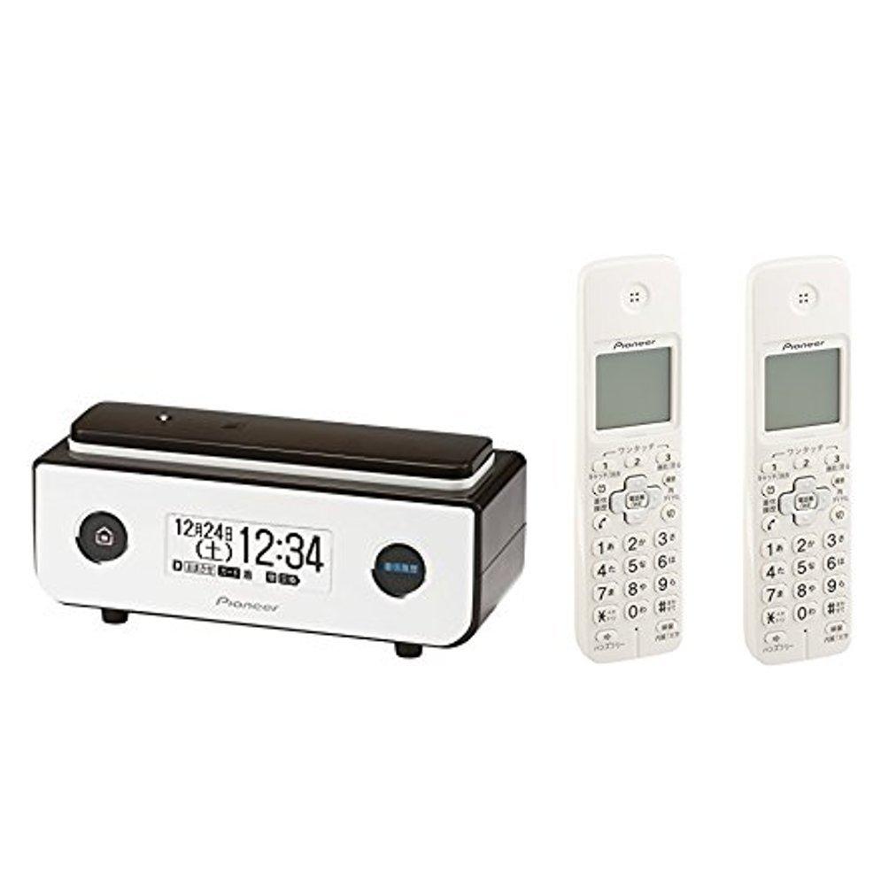 パイオニア Pioneer デジタルコードレス電話機 迷惑電話防止 ビターブラウン + 増設子機2台 ホワイト [TF-FD35S(BR) + TF-EK72(W)] 【国内正規品】 B078ZT5PSR ビターブラウン|本体+子機2台 ビターブラウン