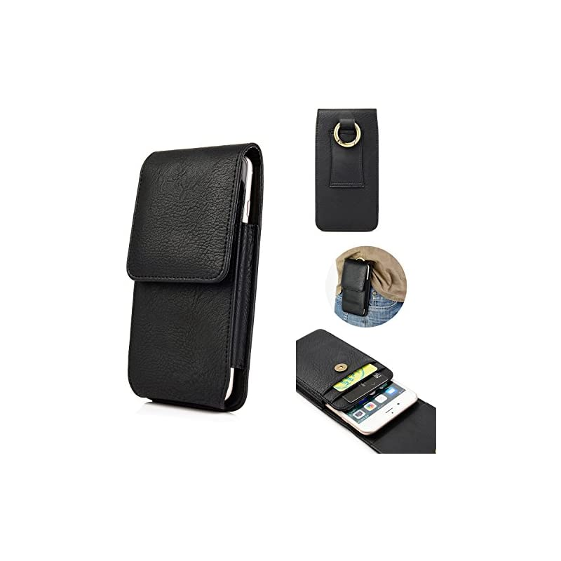 iPhone X Belt Case,kiwitatá Vertical Pre