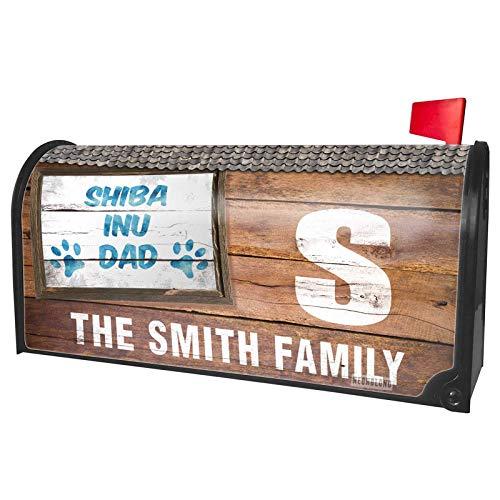 - NEONBLOND Custom Mailbox Cover Dog & Cat Dad Shiba Inu