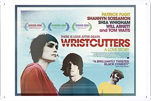 Metal Wall Art Work Movie Theater Tin Poster (WAP-MFF4022) Iron Home Decor - Story Poster Wristcutters Love A