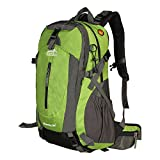 Backpack 50L, Topsky Internal Frame Hiking Backpack Backpacking Backpack for Outdoor Camping Travel Trekking Climbing with Rain Cover (Green) For Sale