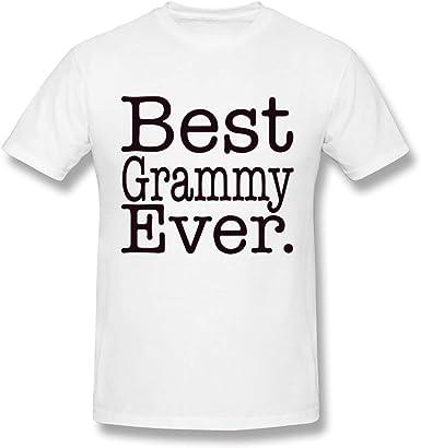 Camiseta Blanca de algodón Grammy Ever Design para Hombre: Amazon.es: Ropa y accesorios