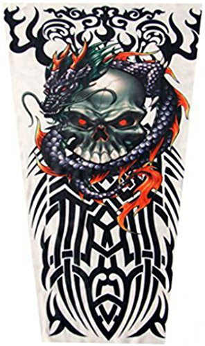 Childrens' Tattoo Sleeves (x2) - Coolest Neoprene Tattoo Sleeves for Sun Protection and Being Tough (Tribal (Coolest Costumes)