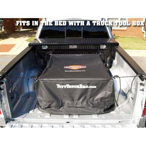 40 W x 50 L x 22 H Tuff Truck Bag TTB-B Waterproof Truck Bed Cargo Carrier Black