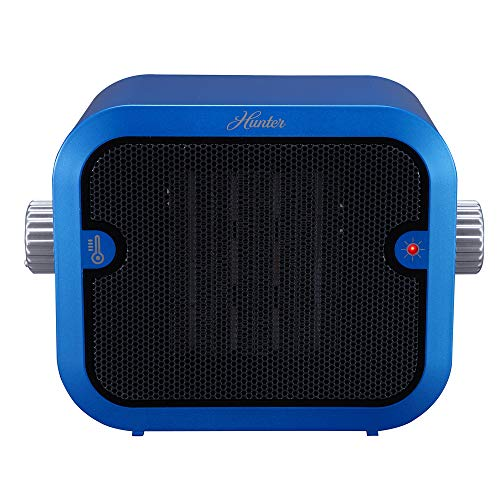 Hunter PC-003BU Retro Ceramic Space Heater (Blue)