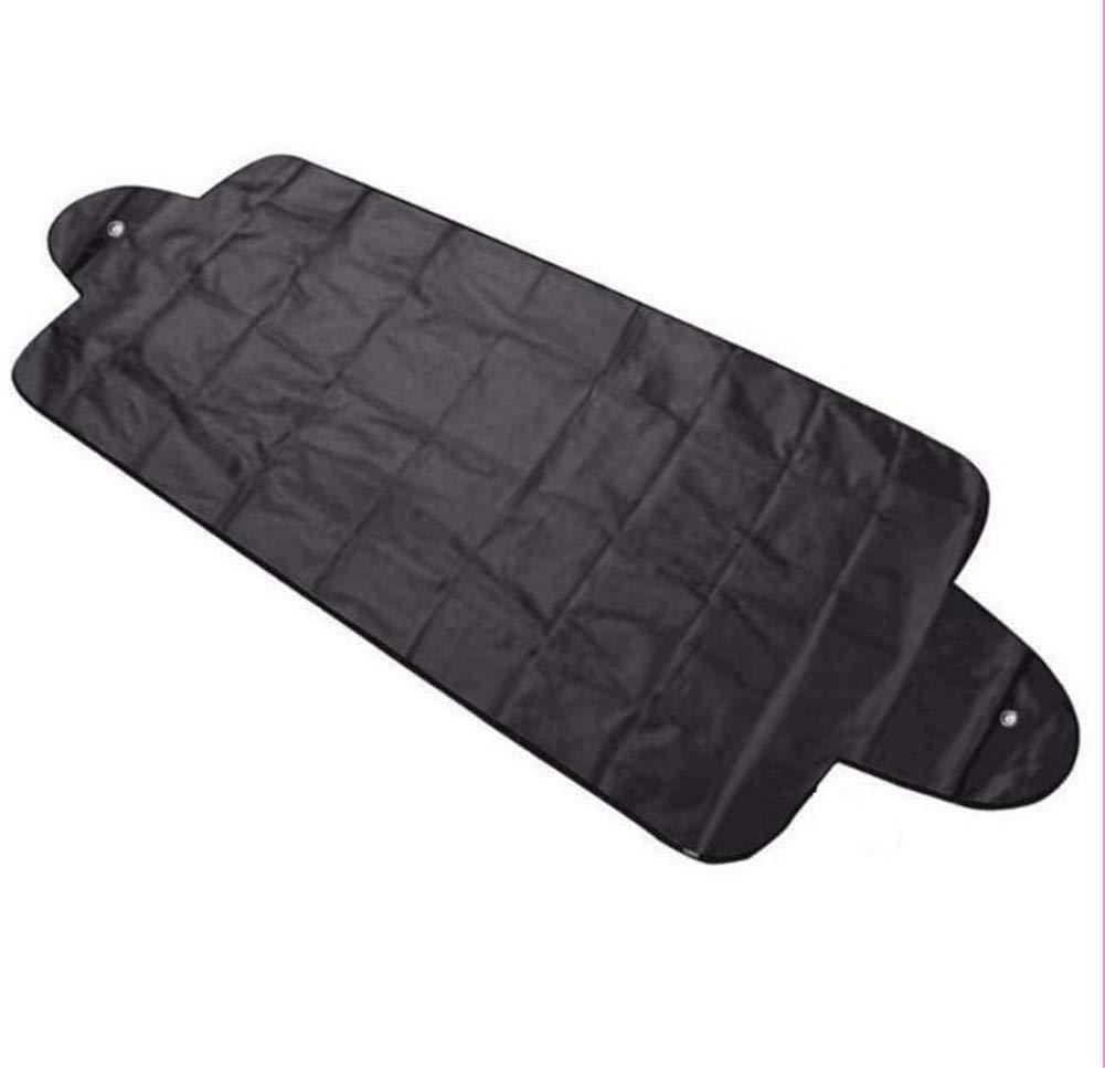 Coche protecci/ón Exterior Nieve Bloqueado Coche Cubiertas Nieve Hielo Protector Visera Parasol fornt Trasero Parabrisas Cubierta Bloque Escudos