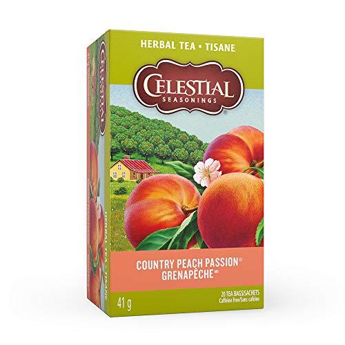 (Celestial Seasonings Natural Herb Tea, Country Peach Passion, 1.4 oz, 20 tea bags)