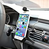 Life-Tech car vent cell phone holder mount For Huawei Mate 2 / P8 Lite / Ascend Y530 / Ascend Y600 / Ascend P6 / G610 / G520 / Ascend Mate 7 / Honor 3C