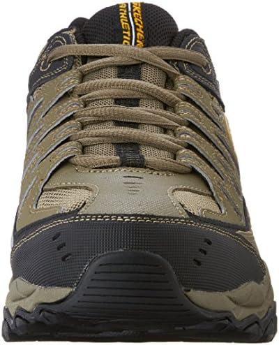 Skechers Men's Afterburn Memory-Foam Lace-up Sneaker 4