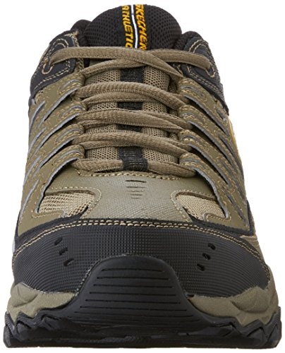 Skechers Burn Uomo Larga ginnastica Black Scarpe After Pebble Display Fit M Sport Pebble ExprqwE