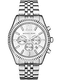 Men's Lexington Silver-Tone Watch MK8405