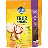 Nature's Recipe True Treats with Turkey, Pea & Carrot, Grain-Free, Natural, Chewy Dog Treats, 16 Ounce Pouch