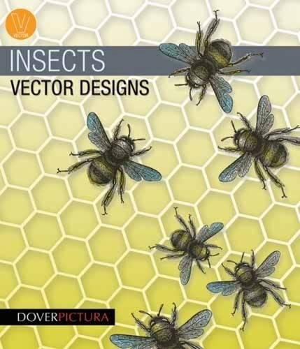 Insects Vector Designs (Dover Pictura Electronic Clip Art)