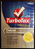 Turbo Tax Deluxe 2010 Federal Returns plus Federal E-File - PC/Mac
