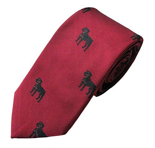 Rottweiler Tie (Men's Dog Breed Neck Tie)