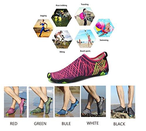 Nager Plongée Semelles Séchage Chaussures Les Pour D'eau Plage Et Unisexe Tous Femmes Respirants Blanc Hommes Rapide Sports 0XHdwBT