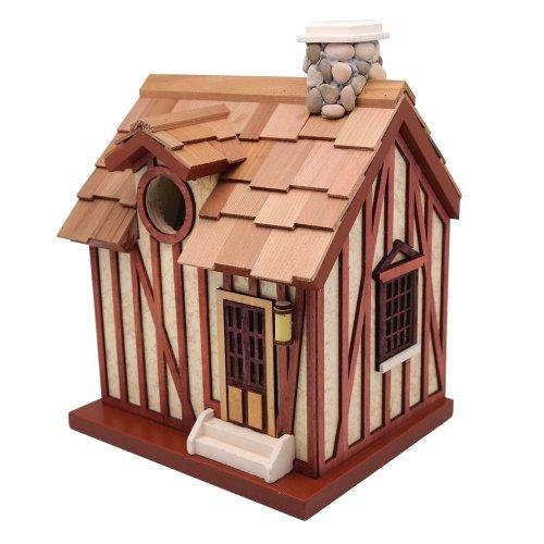 Guest Cottage Birdhouse (Chickadee Garden Stone)