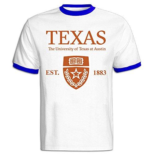 Men's University Of Texas At Austin Established 1883 Baseball Tee Shirt RoyalBlue]()