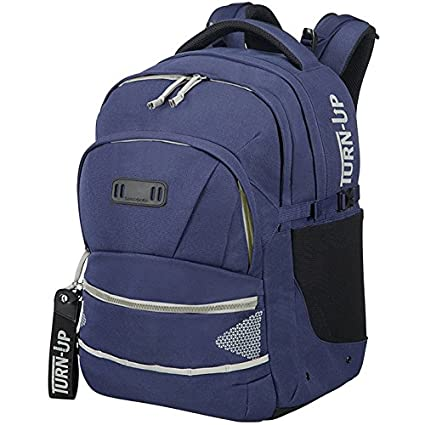 SAMSONITE Turn Up - Children Backpack M Mochila Escolar, 45 cm, 30.5 Liters, (Angel Falls): Amazon.es: Equipaje