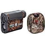 Bushnell Scout DX 1000 ARC 6 x 21mm Laser Rangefinder, Realtree, with Badlands Camo Rangefinder Case