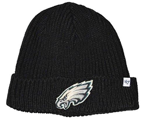 - NFL Philadelphia Eagles Amesbury Cuff Beanie Knit Hat Black