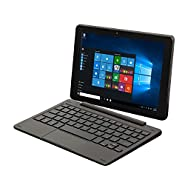 Nextbook Flexx 9 8.9-Inch 32 GB Intel Quad Core 2-in-1 Tablet with Detachable Keyboard Windows 10 (Black)