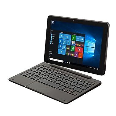 Nextbook Flexx 9 8.9-Inch 32 GB Intel Quad Core 2-in-1 Tablet with Detachable Keyboard Windows 10 (Black)