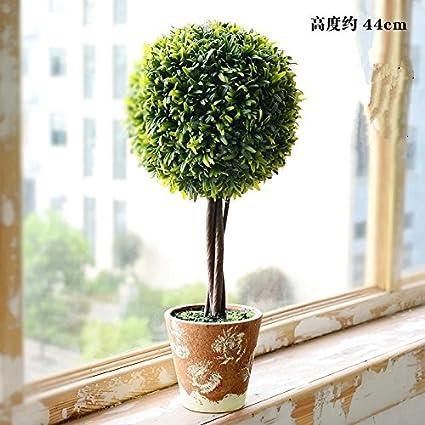 fiori finti Fresco giardino di piante in vaso di simulazione pianta ...