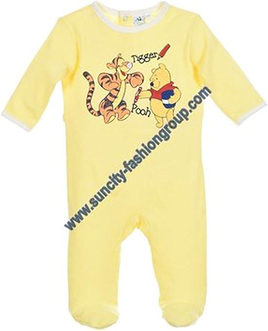 Pijama algodón bebé niño Winnie the Pooh y Tigger Azul y amarillo de 3 a 23 meses amarillo amarillo Talla:18 meses