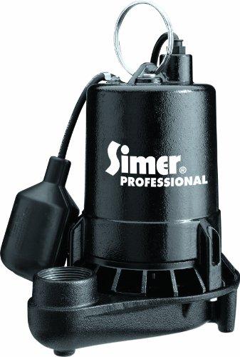 (Simer 5950 1/2 HP Professional Grade Sump Pump)