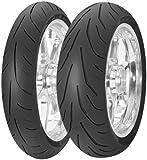 Avon Tyres AV80 3D Ultra Sport Tire - Rear - 160/60ZR-17 , Position: Rear, Tire Size: 160/60-17, Rim Size: 17, Load Rating: 69, Speed Rating: W, Tire Type: Street, Tire Construction: Radial, Tire Application: Sport 4530012