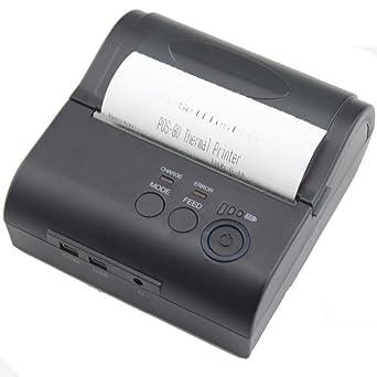 JEPOD JP-81LYA mini impresora de recibos térmica Bluetooth ...