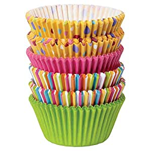 Wilton Sweet Dots and Stripes Baking Cup - Multi Color