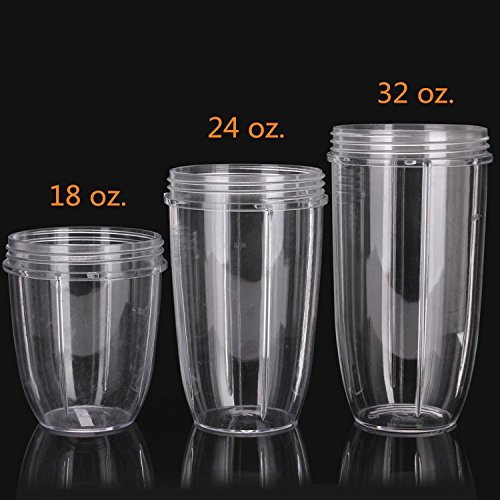 Preferred Parts, Tall NutriBullet Replacement Cups for - Import It All
